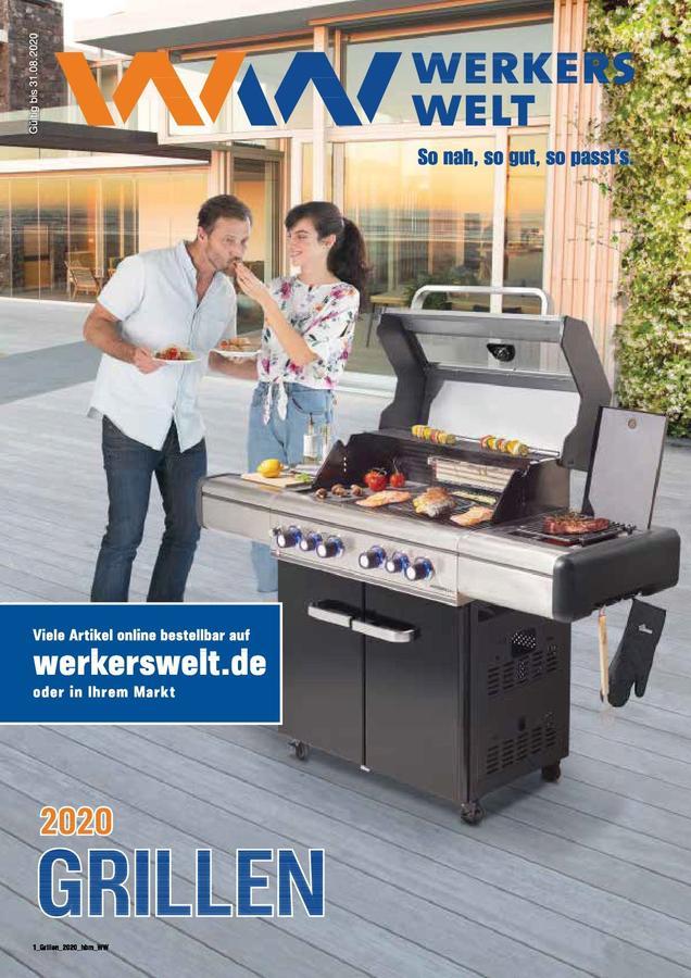 Titelseite WerkersWelt Katalog Grillen 2020