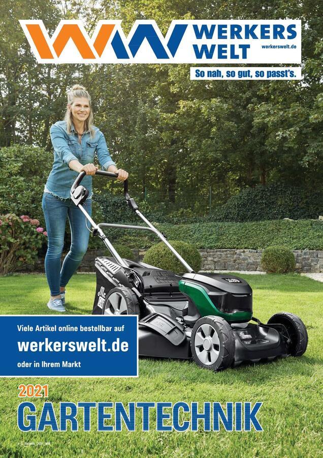 Titelbild Katalog WerkersWelt Gartentechnik 2021