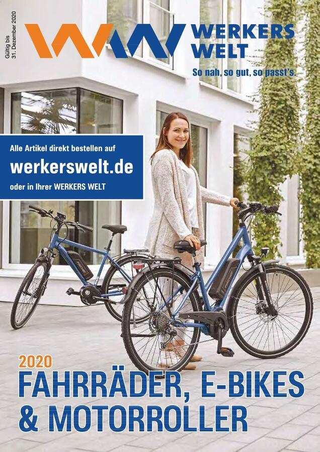 Titelseite WW-Katalog Fahrräder 2020