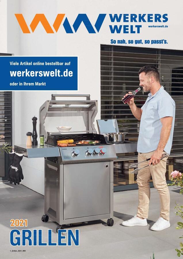 Titelseite WerkersWelt Katalog Grillen 2021