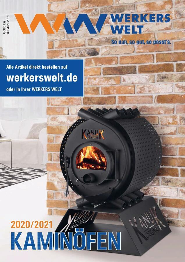 Titelbild Katalog Kaminöfen 2020/2021