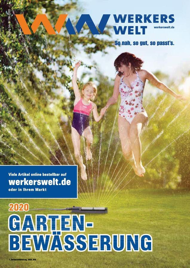 Titelbild Katalog WerkersWelt Gartenbewässerung 2020