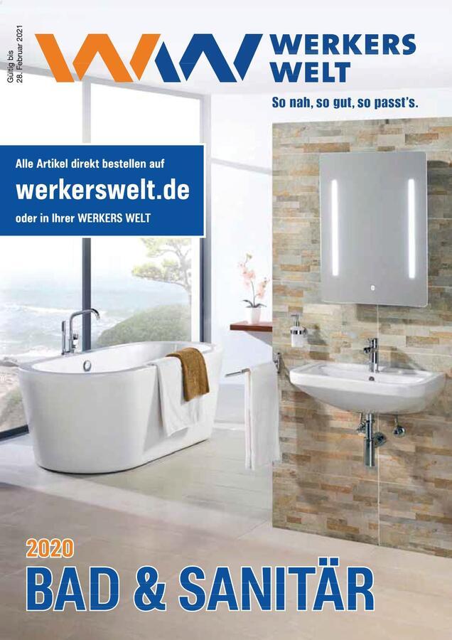 Titelbild Katalog Bad & Sanitär bis 28.02.2021