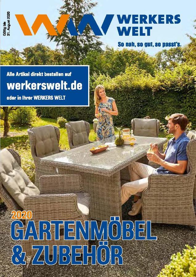 Titelseite  Katalog WerkersWelt Gartenmöbel 2020