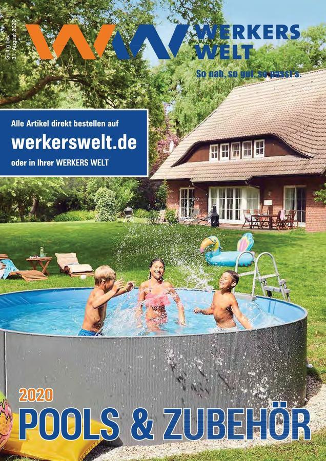 Titelseite WerkersWelt Katalog Pool 2020
