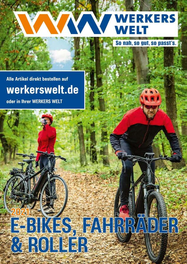Titelbild Katalog WerkersWelt Bikes 2021
