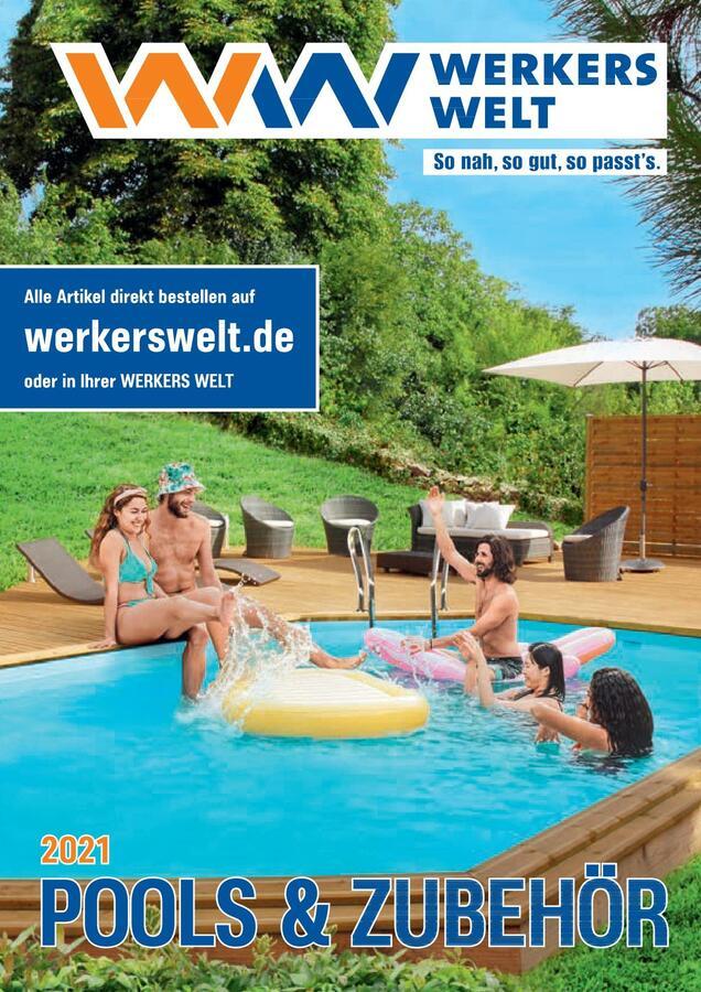 Titelseite WerkersWelt Katalog Pool 2021
